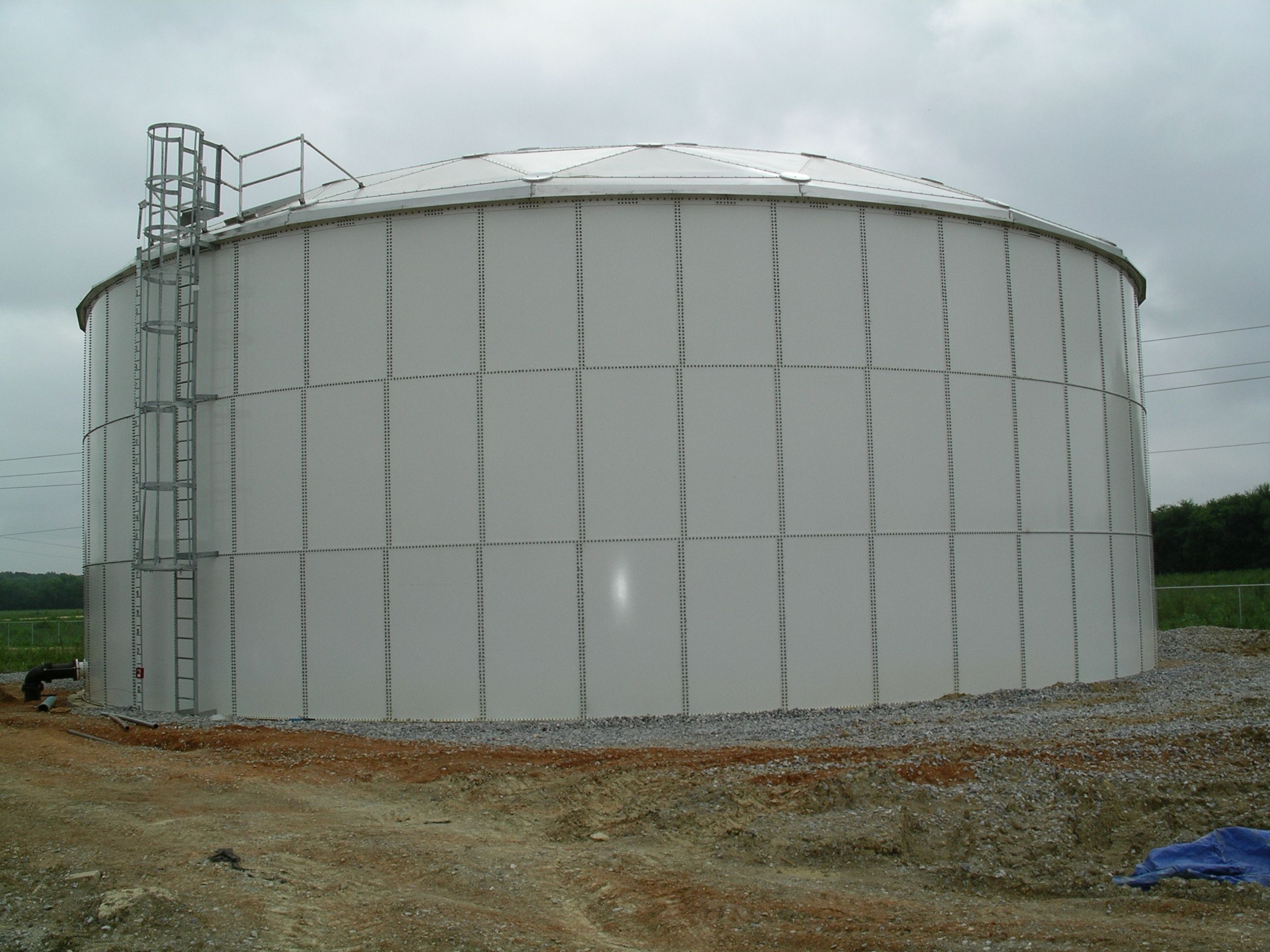 Water Storage Tanks : The best steel bolted fire protection water storage tanks