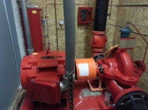 Peerless horizontal split-case fire pump install 6