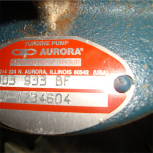 Aurora Turbine Pump