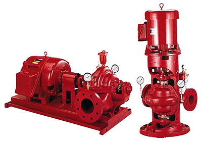 Aurora pumps meet the stingent requirements of the NFPA 20.